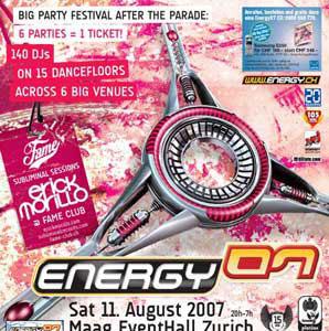 Energy Festival – Zurich (2007)