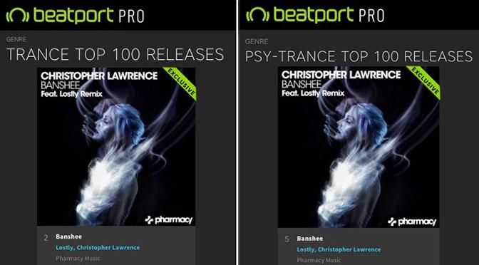 Banshee – #1 on Beatport Trance Release Chart