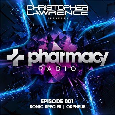Pharmacy Radio #001 w/ guests Sonic Species & Orpheus