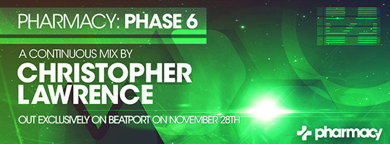 Pharmacy: Phase 6 hits #2 on Beatport