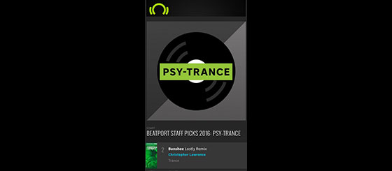 Beatport staff names Banshee as the #2 Psy-Trance track for 2016
