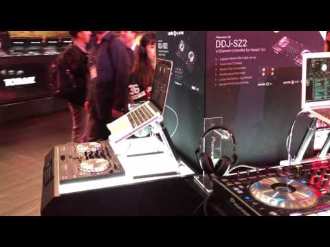 Pioneer DJ Booth at NAMM