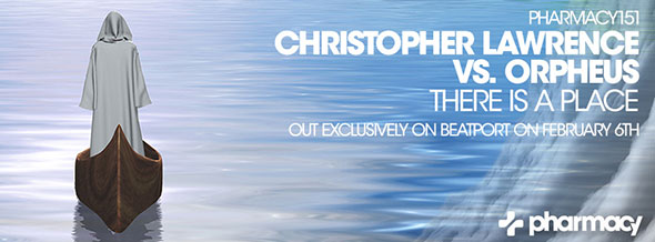 Christopher Lawrence vs. Orpheus – There Is A Place at #11 on Beatport Singles chart