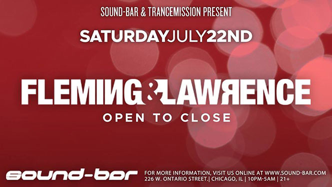Fleming & Lawrence – OTC Sound-Bar, Chicago