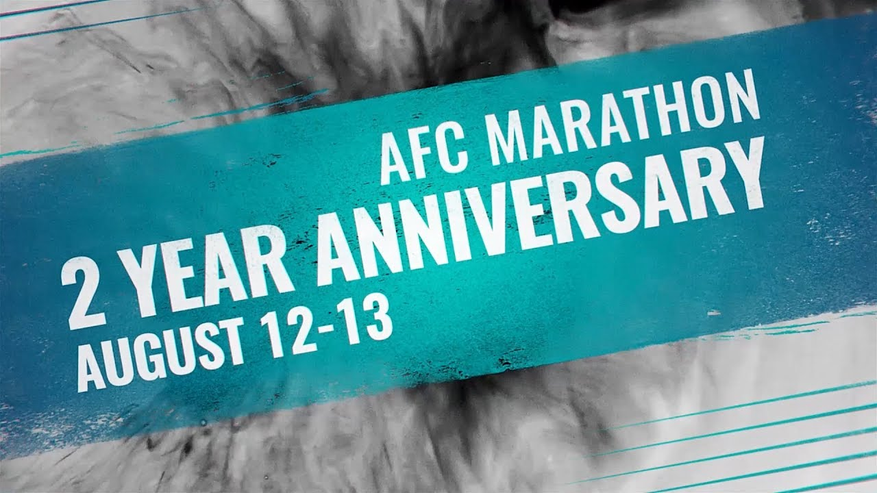 AFC Marathon 2 Year Anniversary from Moscow