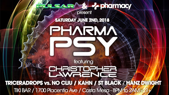 Pharma-PSY in Orange County on June 2nd