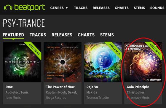 Christopher Lawrence & Synfonic – Gaia Principle hits #1 on Beatport