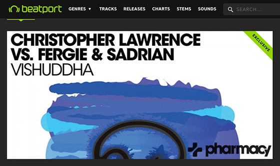 Christopher Lawrence vs. Fergie & Sadrian's Vishuddha is #22 on Beatport Singles Chart